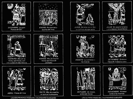 El calendario Inca - El blog del calendario - Talleres Matauco
